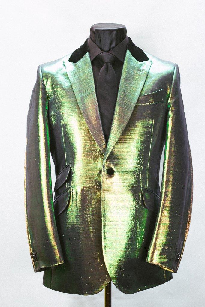 a389721de8a8d Golden Green Lamé Jacket – Sir Tom Baker