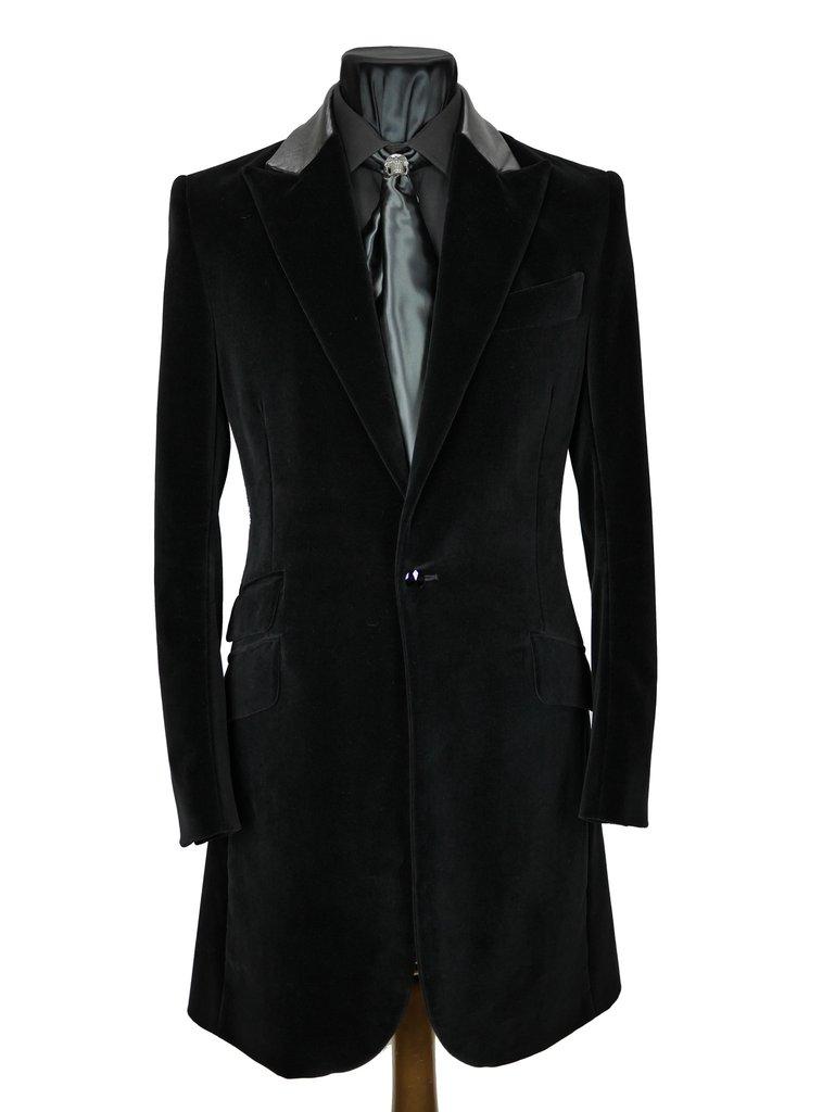 6c38ae2b1224b Velvet Frock Coat – Sir Tom Baker